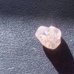 Rough Diamond ct.1.83 pink colour